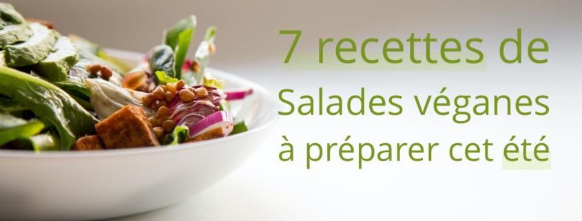 recettes salades vegan