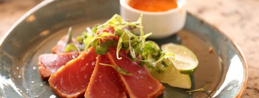 thon, aliment de la mer sain, nutritif, protéine